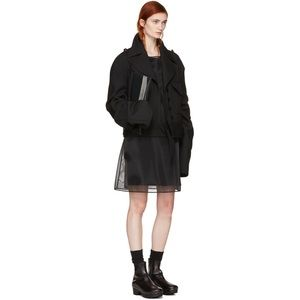 Maison Margiela NWOT Black Crinoline Dress